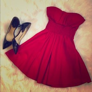Strapless Red Agaci Dress!
